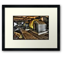 All a matter of suck and blow... Framed Print