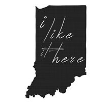 I Like it Here Indiana by surgedesigns