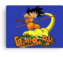 Kid Goku - Dragon  Ball Canvas Print