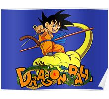 Kid Goku - Dragon  Ball Poster