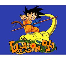 Kid Goku - Dragon  Ball Photographic Print