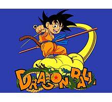 Kid Goku - Dragon  Ball Photographic Print