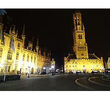 Bruges-Belfort Photographic Print