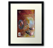 The Next Frontier (Comic Book Cover) Framed Print