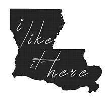 I Like it Here Louisiana by surgedesigns