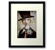 Mad Hatter in Wonderland Framed Print