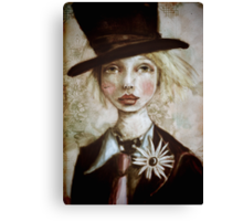 Mad Hatter in Wonderland Canvas Print