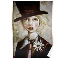 Mad Hatter in Wonderland Poster