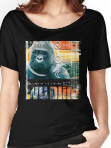 wildlife gorilla Women's Relaxed Fit T-Shirt
