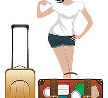 Traveling Girl 2 by AnnArtshock
