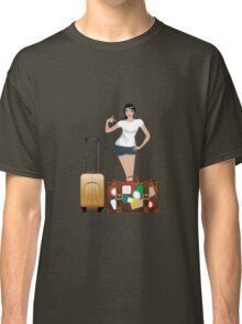 Traveling Girl 2 Classic T-Shirt