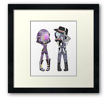 Mass Effect - Tali and Legion [Commission] Framed Print