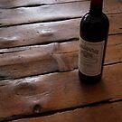 wine art #12, Wendouree on the floor 1 by stickelsimages