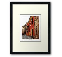 Pixel Art Cities: Piacenza Framed Print
