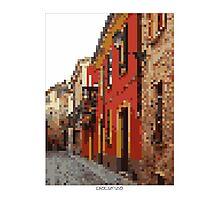 Pixel Art Cities: Piacenza Photographic Print