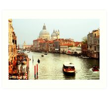 The Grand Canal in Venice, Italy Art Print