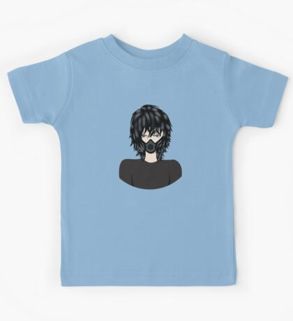 Man in Respirator Kids Tee
