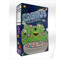 COSMOS Cereal Box Poster