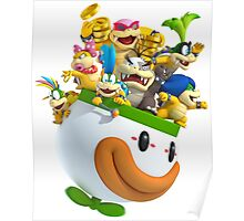 The Koopalings - Super Mario Bros Poster