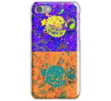 A Sequence of Toddler Turtles – Blue & More iPhone Case/Skin