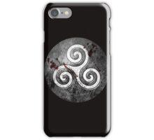 Grey Triskèle iPhone Case/Skin