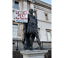 iProtest__the licence fee Photographic Print