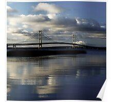 Morning at the bridge Poster