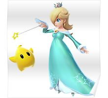 Rosalina and Luma - Super Mario Bros Poster