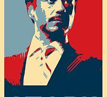 Tony Stark Propaganda by MrFinlayW