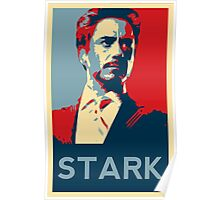 Tony Stark Propaganda Poster
