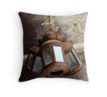 Rusty Lamps Throw Pillow