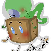 Tiny Box Tim and Septiceye Sam by Monodes