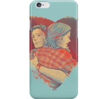 Winchester Brothers Hug 1 iPhone Case/Skin