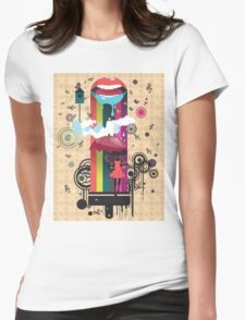 Surreal Fairy 2 Womens Fitted T-Shirt