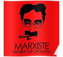 MARXISTE - tendance Groucho Poster