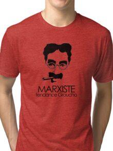 MARXISTE - tendance Groucho Tri-blend T-Shirt