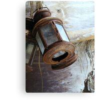 Rusty Lamps Canvas Print
