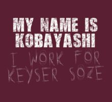 The Usual Suspects - My Name Is Kobayashi, I Work For Keyser Soze by scatman