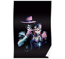 Joker - Batgirl/Batman 41 cover variant  Poster