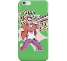 I WILL PROTECT YOU SAMMY! iPhone Case/Skin