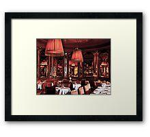 Paris Bistro Framed Print