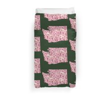 Washington Flowers Duvet Cover
