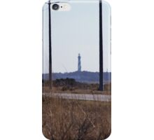 Cape Hatteras Lighthouse from Highway 12 iPhone Case/Skin