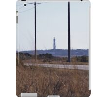 Cape Hatteras Lighthouse from Highway 12 iPad Case/Skin