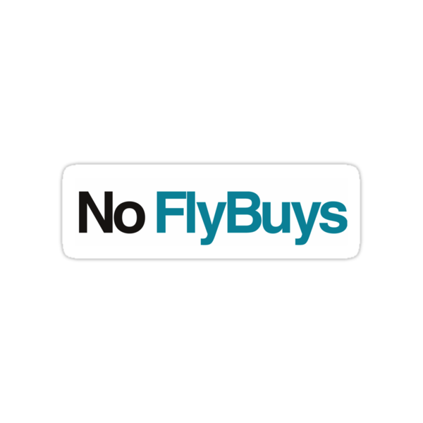 No FlyBuys by Andrew Wise
