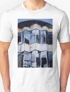 Rotund  Fox Building Unisex T-Shirt