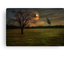 In The Eye Of The Storm Canvas Print