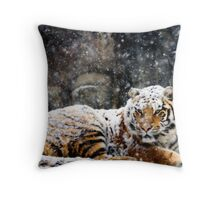 Waking Up Grumpy Throw Pillow