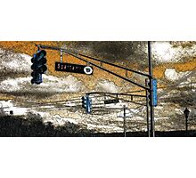 Intersection Photographic Print