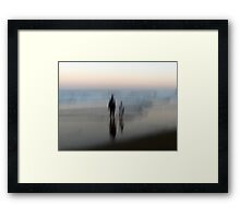 You, Me, the Sea Framed Print